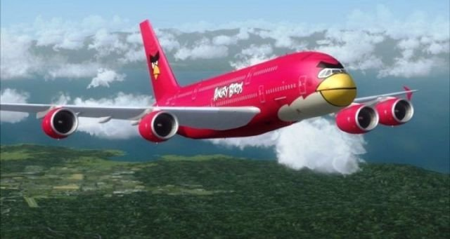 Angry Birds Plane