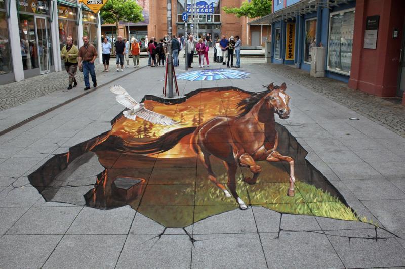 رسومات شوارع ثلاثية الأبعاد - صورة 8