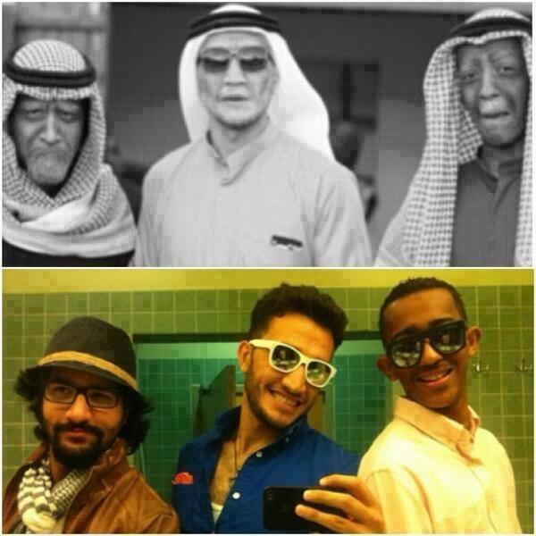 فرقة #sheyaab الحقيقية #ArabsGotTalent