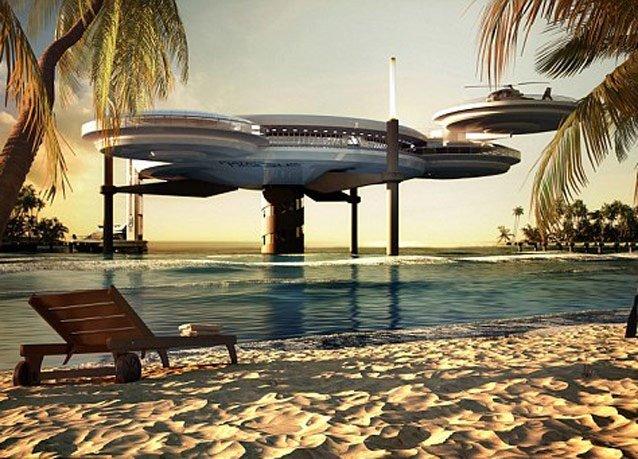 فندق تحت البحر في #دبي - صورة 2