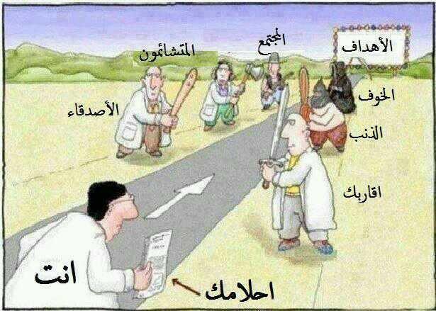 معوقات النجاح , احذر منها ..