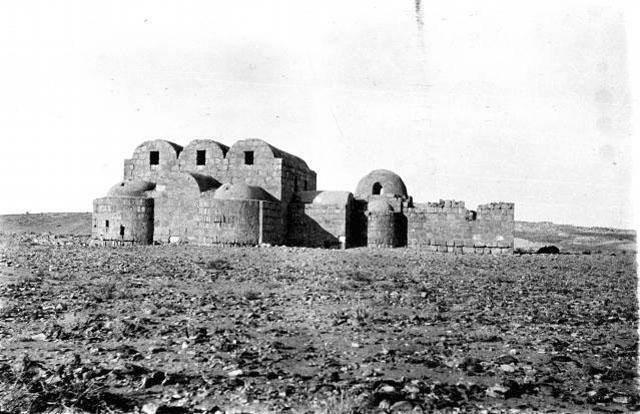 #صور_من_الاردن قصر عمرة 1914