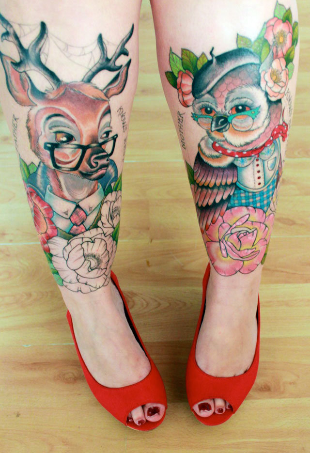 Most Creative and Crazy Tattoos - 24