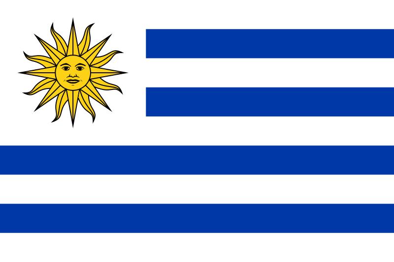 علم دولة اوروغواي