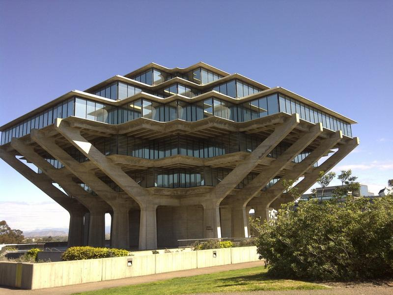 Geisel Library In USA - architecture, design, art, interior