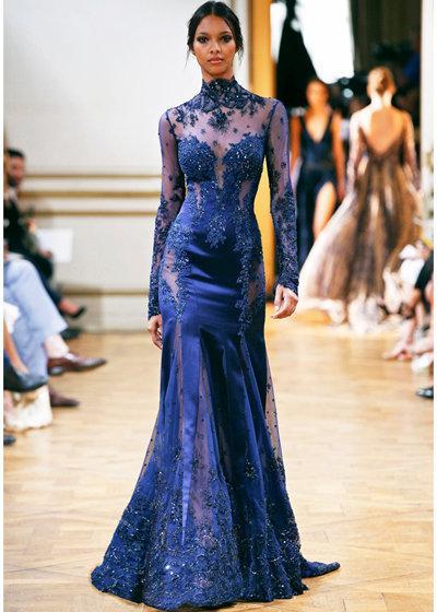 فستان من تصميم زهير مراد مجموعة هوت كوتور صورة 70