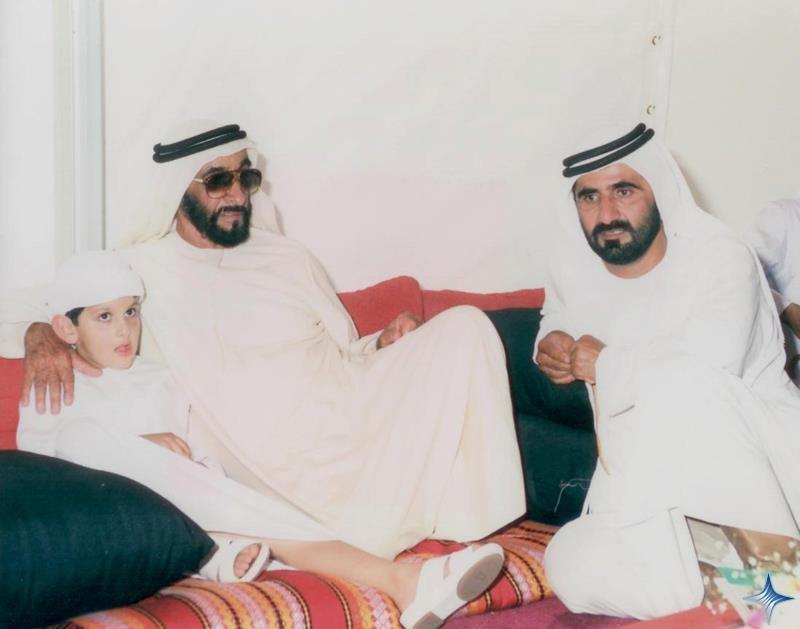 Rare Pictures for Sheikh Zayed and Sheikh Mohamad Bin Rashed 4