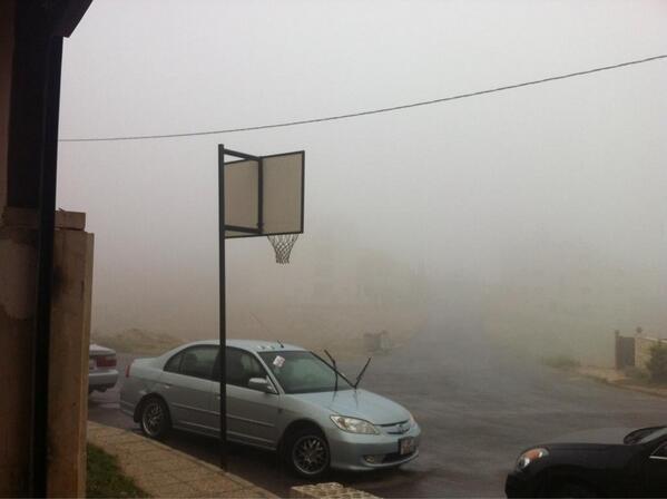 Amman Jordan عمان Rain
