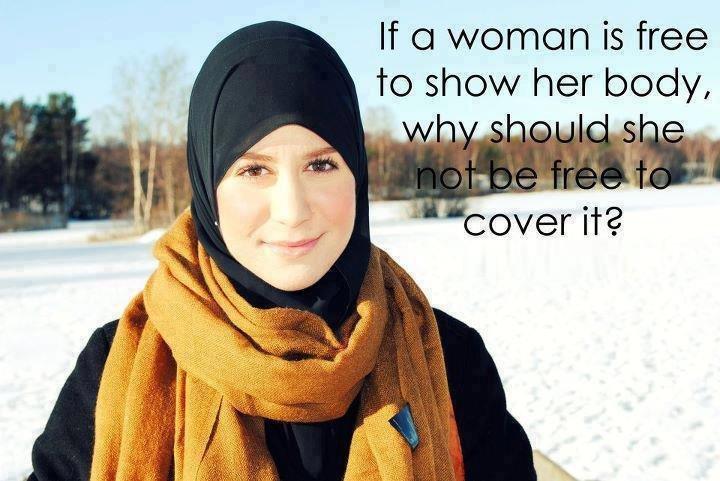 تحاسب المرأة عندما تلبس الحجاب وتترك ان تعرت
