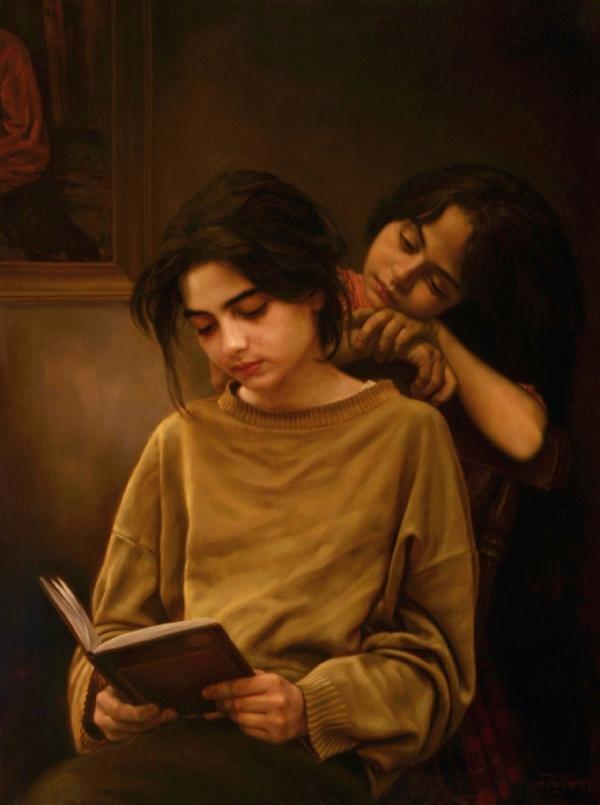 Iranian painter iman maleki #Reality_Painter - 17