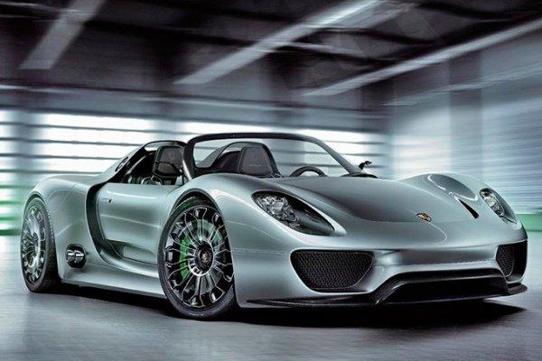 Porsche 918 Spyder 2013 Model