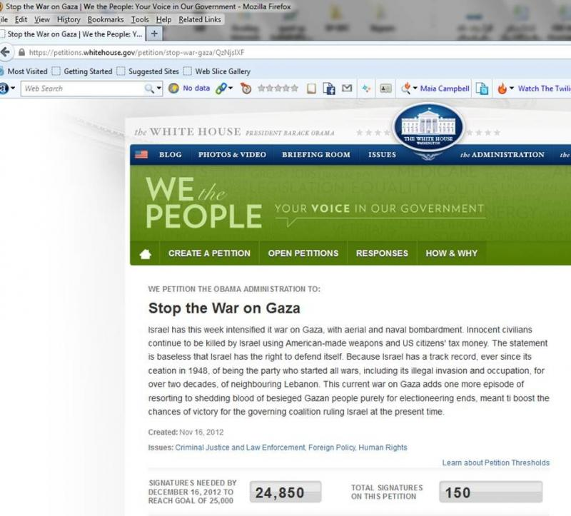 Stop the War Petition