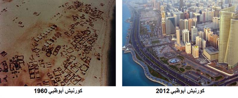كورنيش #أبوظبي 1960 - 2012