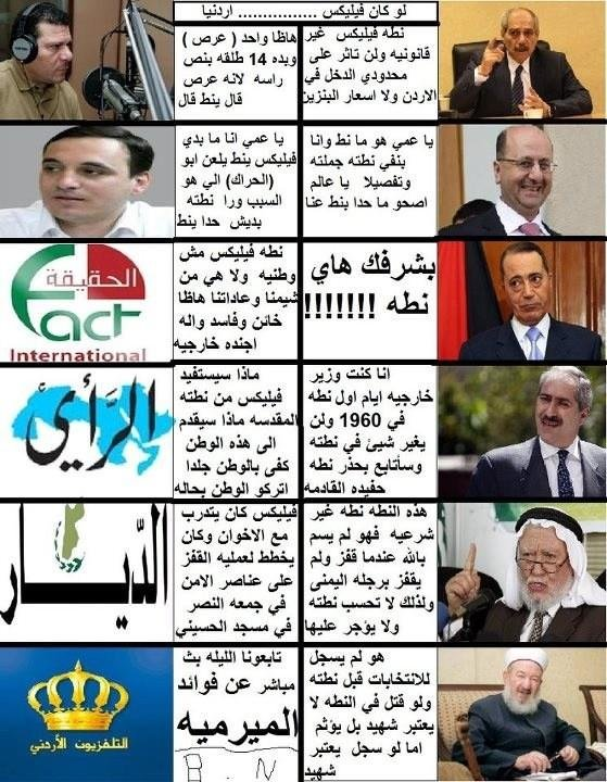 كيف يرى #الأردنيين #قفزة_فيليكس #نهفة