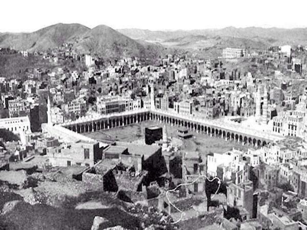 صورة نادره لمكة المكرمة عام 1910 ميلادي !