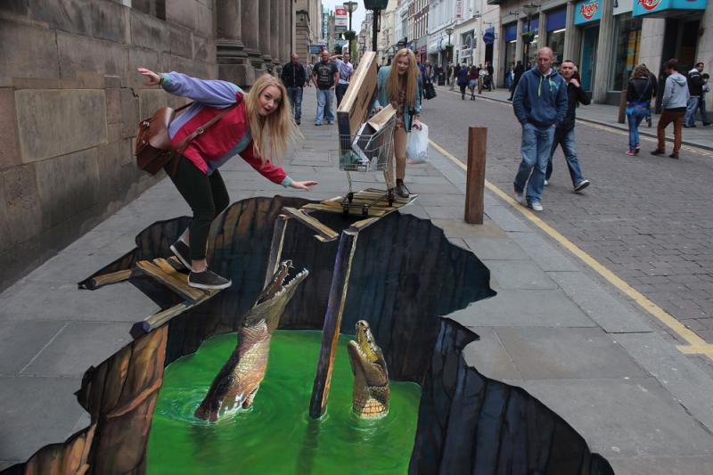 رسومات شوارع ثلاثية الأبعاد - صورة 7