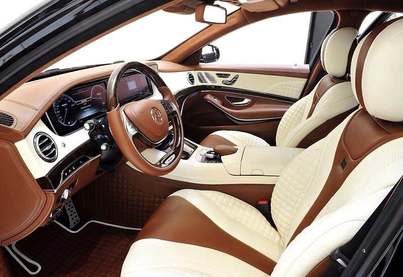 Mercedes-Benz Brabus S63 AMG 6.0 Biturbo iBusiness - interior shot