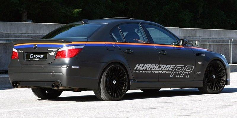 BMW M5 G-Power Hurricane RR - rear shot