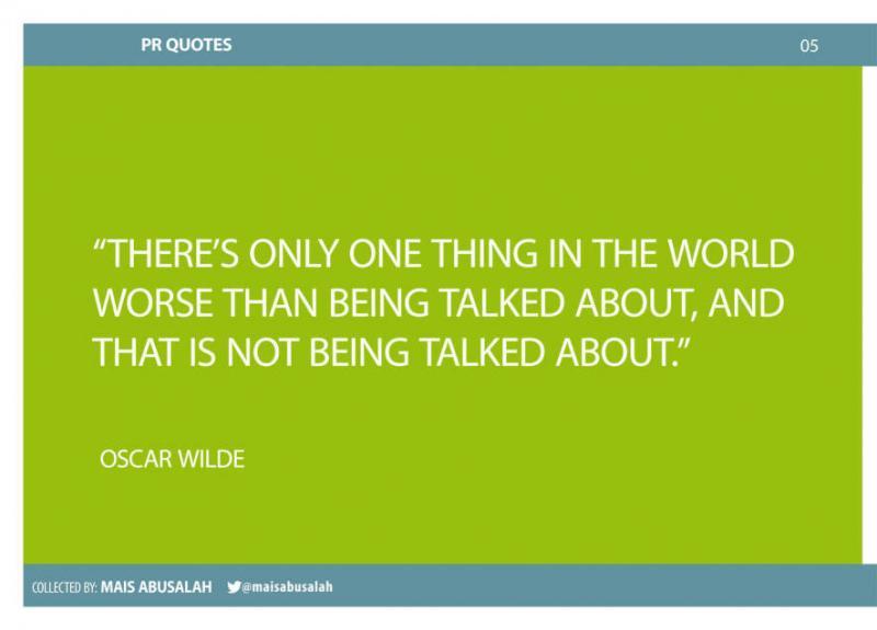 Inspiring PR & Communications Quotes 3