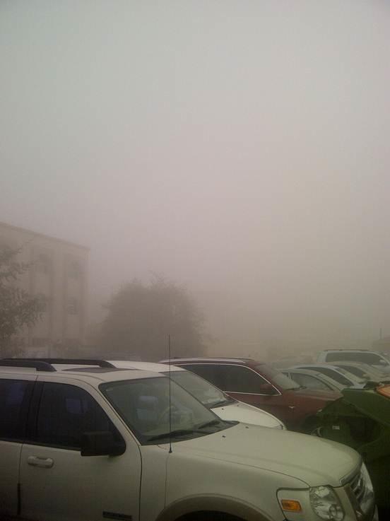 Abu Dhabi Fog