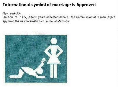 International Marriage Symbol