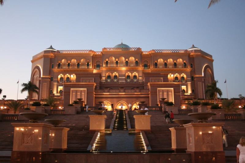 قصر الإمارات في #أبوظبي