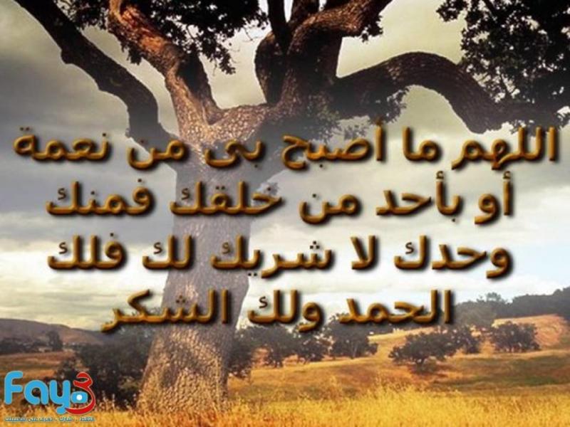 #دعاء اللهم ما أصبح بي من نعمة