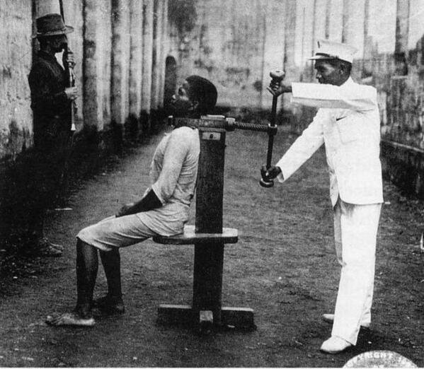Execution in South Africa 1922