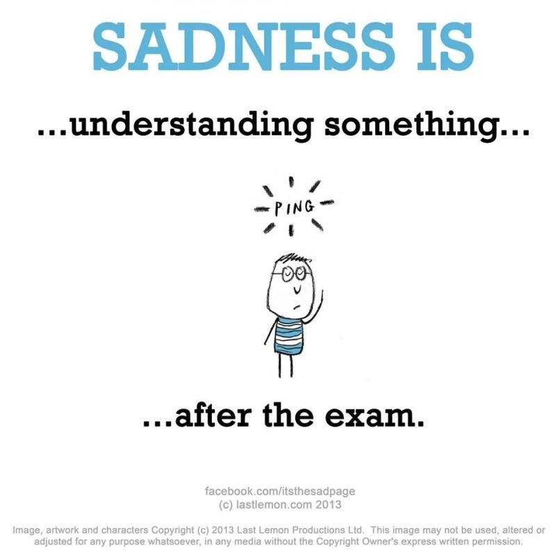 another kind of sadness