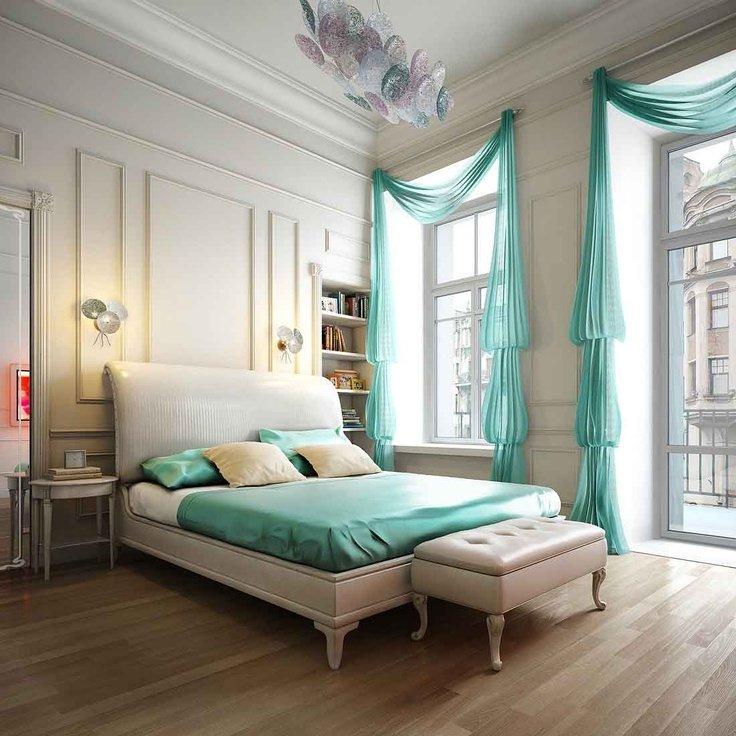 احدث تصاميم غرف النوم للزوجين صورة 118