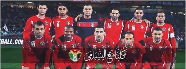 Alnashama - Jordan Soccer Team- @Familyjo #TFSport