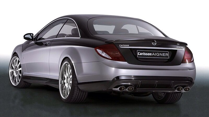 Mercedes-Benz Carlsson Aigner CK65 Eau Rouge Dark Edition - rear shot