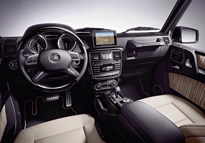 Mercedes-Benz G-Class - interior shot