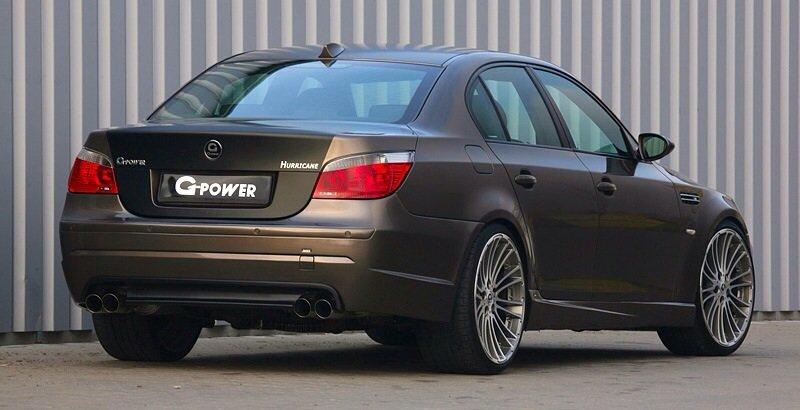 BMW M5 G-Power Hurricane RS - Rear shot