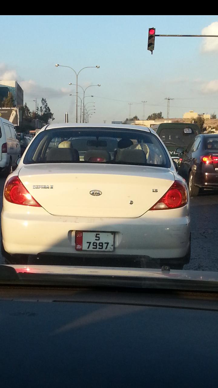 سيارة حكومية خارج أوقات الدوام #الأردن