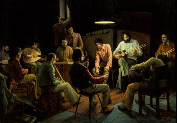 Iranian painter iman maleki #Reality_Painter - 11