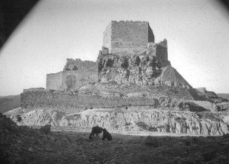 قلعة #الكرك #الأردن عام 1908 #تاريخ