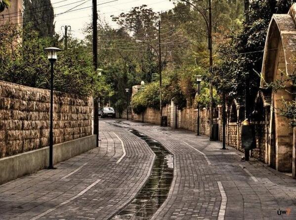#عمان #الاردن احد شوارعها ال#قديمة