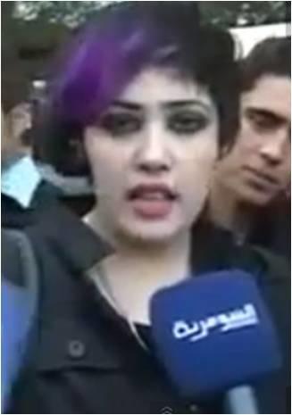 مشتركة أراب آيدول رغد الجابر تنتحر -عادي- #ArabIdol
