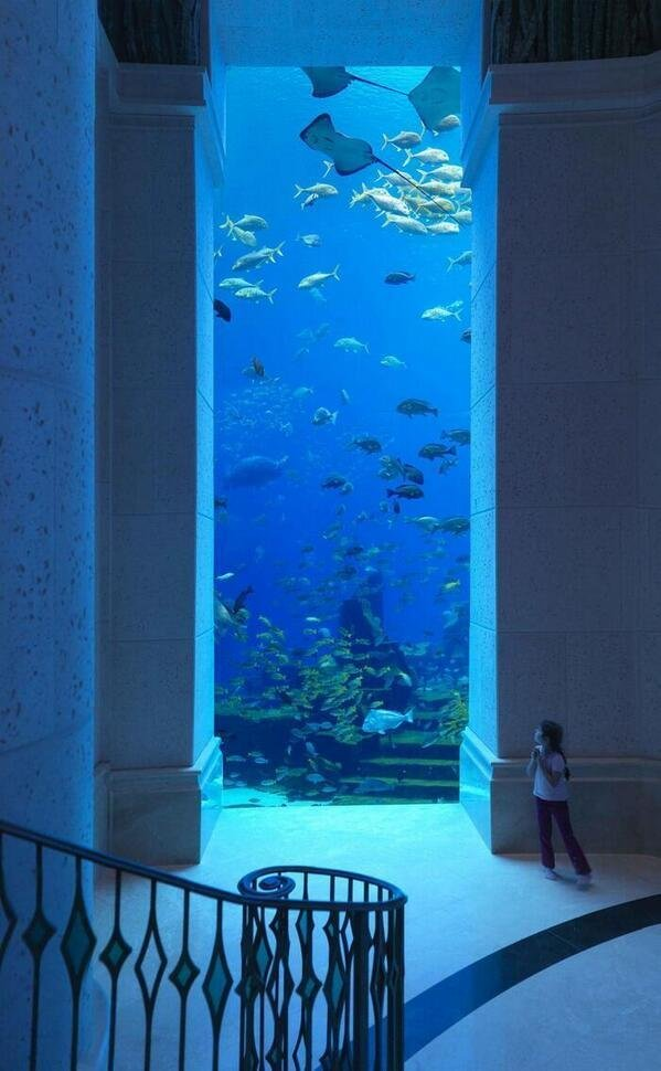 Underwater hotel in #Dubai