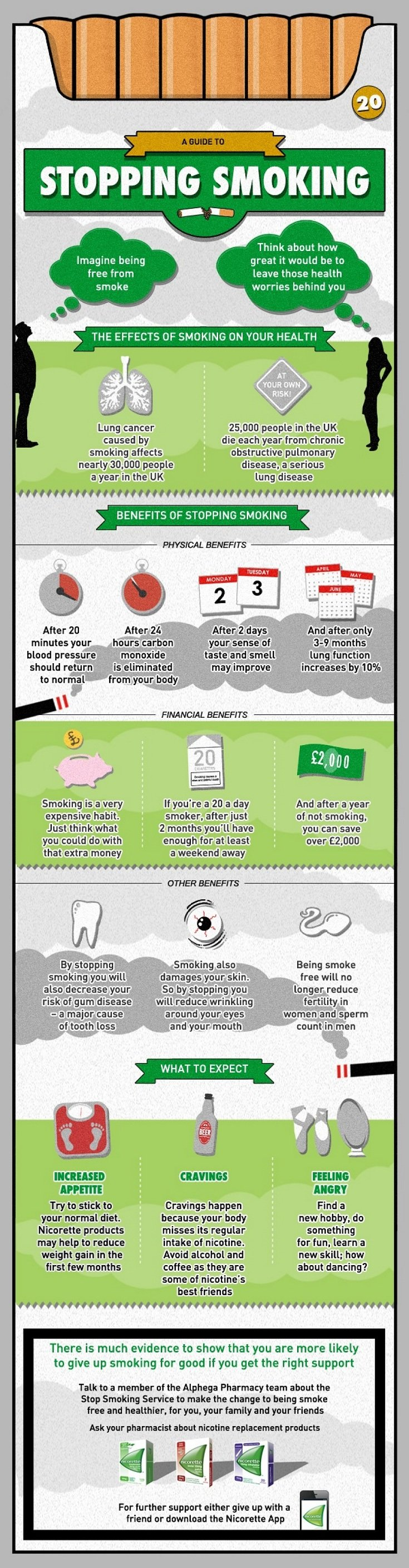infographic-A Guide to Stop Smoking