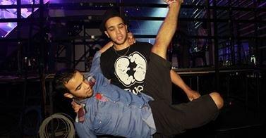 صور- ياسين وسمير يبتكران حركات جديدة لرقصتهما #ArabsGotTalent #Twam