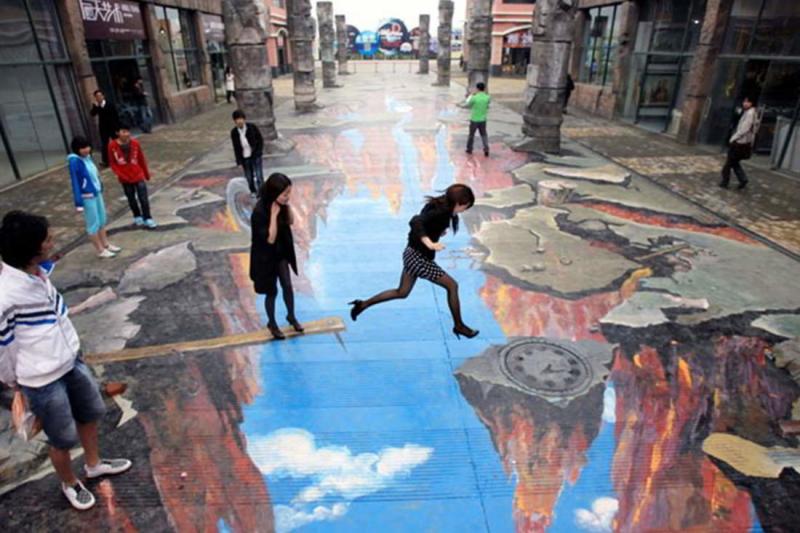 رسومات شوارع ثلاثية الأبعاد - صورة 3