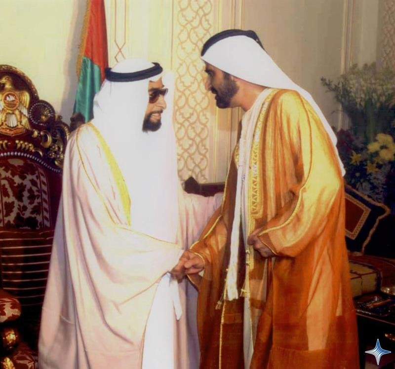 Rare Pictures for Sheikh Zayed and Sheikh Mohamad Bin Rashed 6