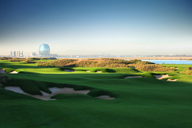 Yas Links #AbuDhabi is the Middle Easts only true links course