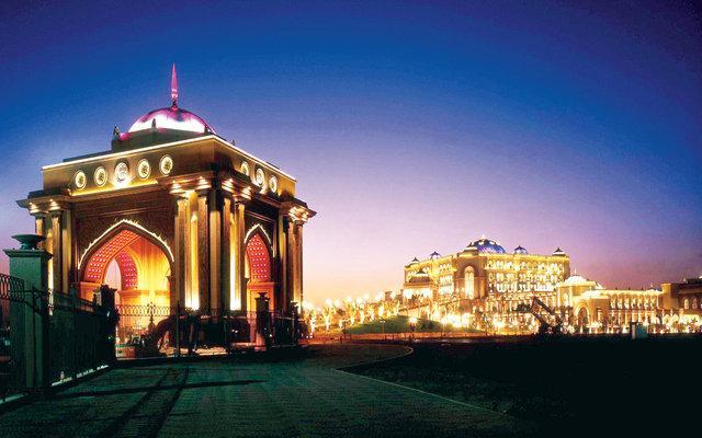 بوابة مدخل فندق #قصر_الإمارات #أبوظبي