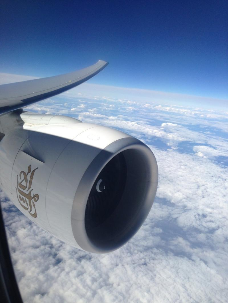Emirates airlines and the clouds