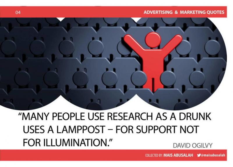 Advertising & Marketing Quotes 2 by @Maisabusalah for the full booklet check http://ow.ly/no5lZ