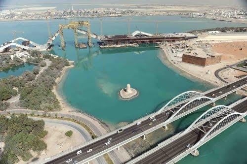 جسر المقطع #أبوظبي
