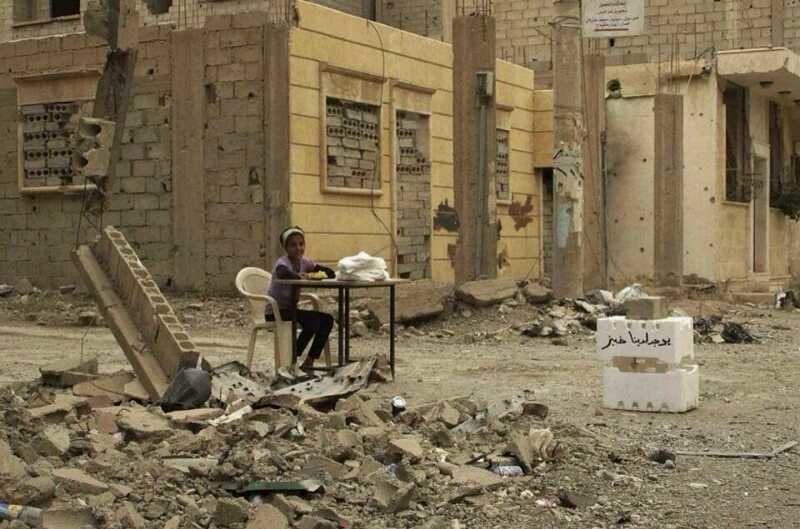 الصورة تتكلم واقع الحال في سوريا